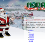 Weekend Website 40: NORAD Santa