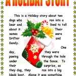 holiday projects--story